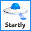 The Startly UFO logo