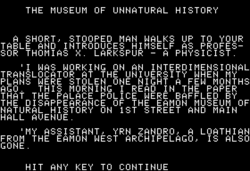 Museum of Unnatural History intro.png