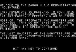 Eamon v7.0 Demo Adventure intro.png
